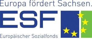 Logo des Europäischen Sozialfonds Sachsen