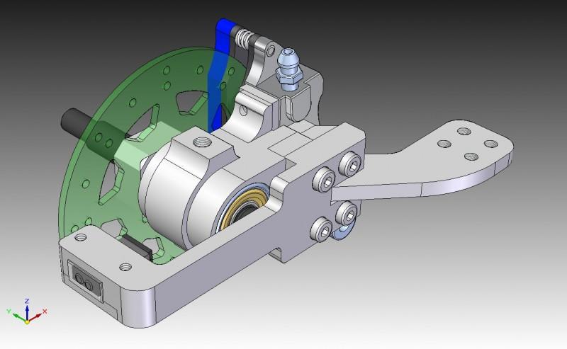 Vorderrad CAD