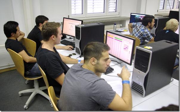 Auswertung im CAD Labor der HTW Dresden